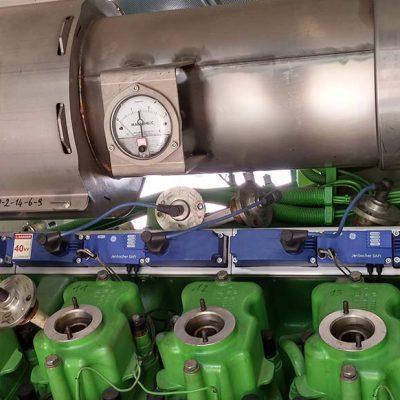 1.Lavori di sostituzione motore su impianto biogas, potenza 834kW