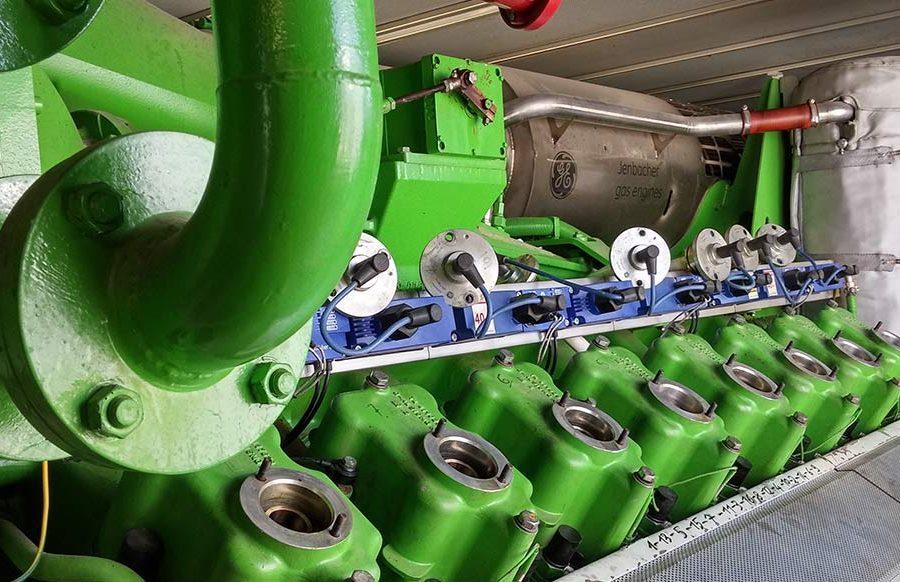 2.Lavori di sostituzione motore su impianto biogas, potenza 834kW