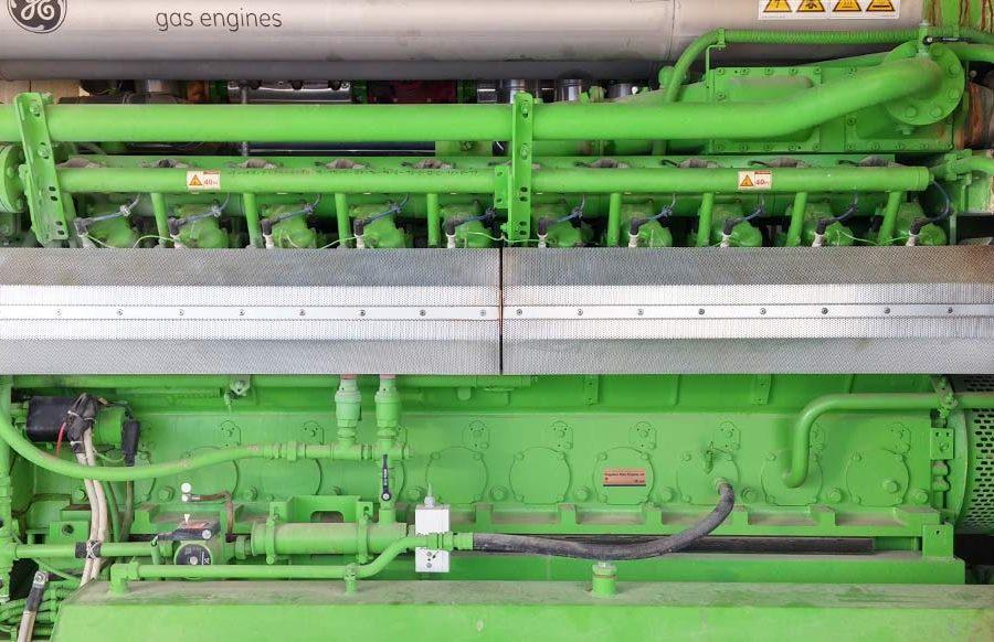 3.Lavori di sostituzione motore su impianto biogas, potenza 834kW